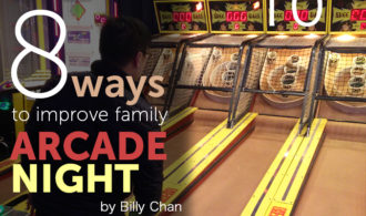 8 ways to improve family arcade night